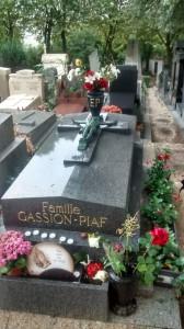Edith Piaf's grave