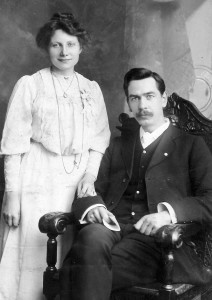 Walter and Bertha Ayles