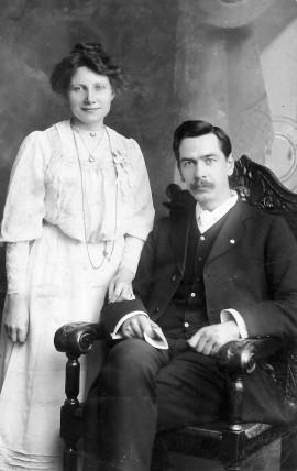 Walter and Bertha Ayles