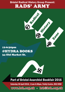 Bristol Anarchist Bookfair 2016 Poster