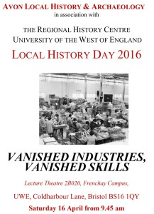 Avon Local History & Archaeology 2016 Programme