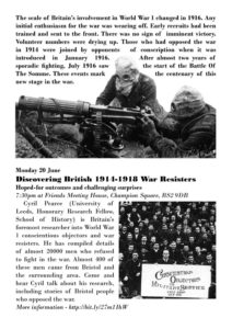 Summer 1916 Programme Page 2