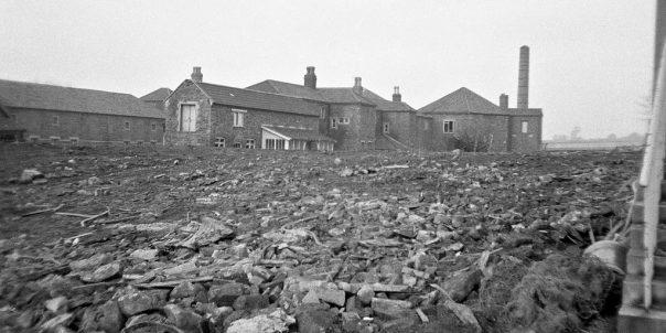 Eastville Workhouse Being Demolished, 1972