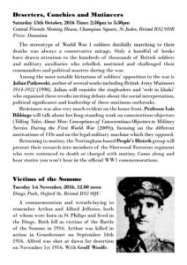Resisting the War Programme Page 2