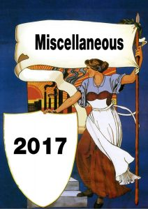 Miscellaneous 2017 Poster