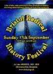 Bristol Radical History Festival 2017 Flyer Front