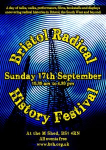 Bristol Radical History Festival at M Shed Poster