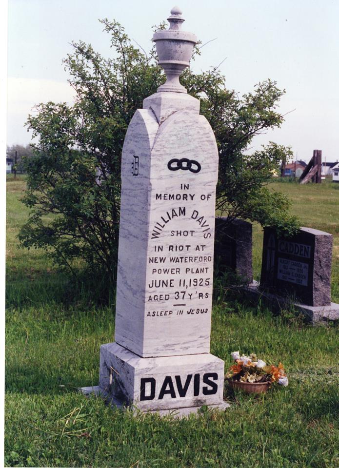 William Davis Miners' Memorial Day