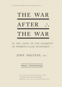 The War after the War Front Cover