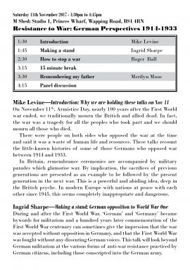 Programme page 1