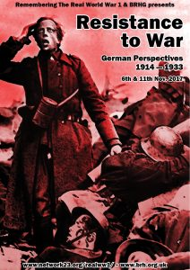 Resistance to War: German Perspectives 1914-1933 Poster