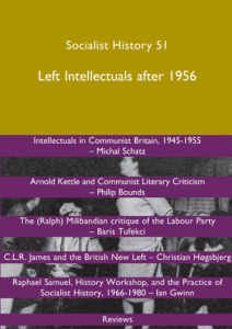 Socialist History (51) Cover
