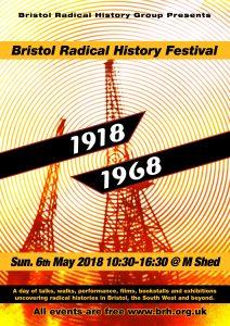 Bristol Radical History Festival 2018 Poster Dark Large