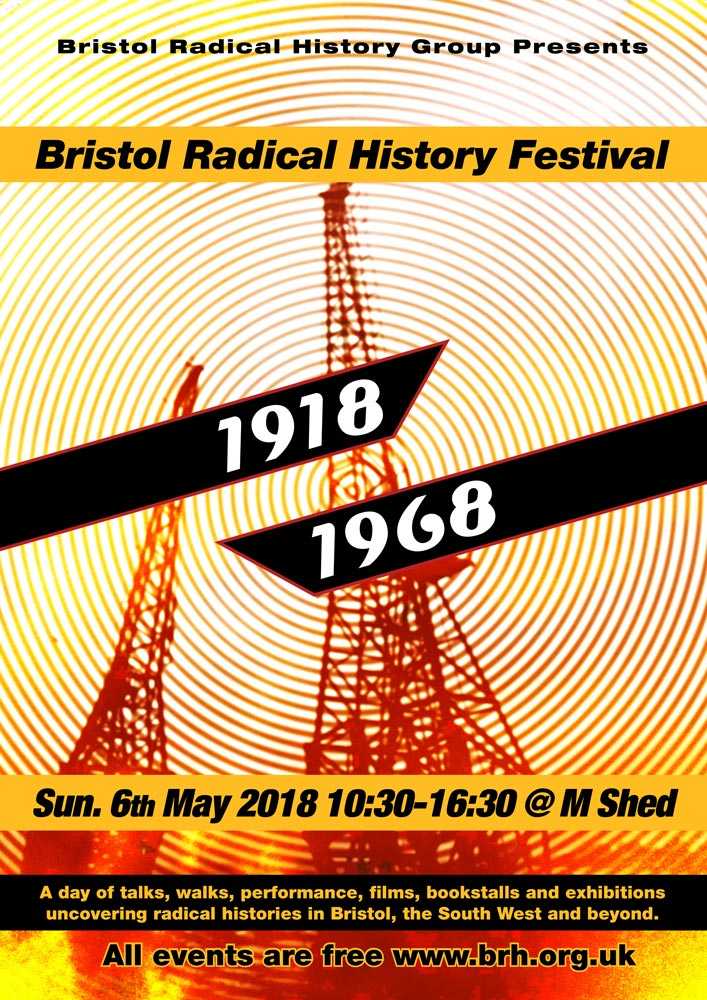 Bristol Radical History Festival 2018 Poster Light