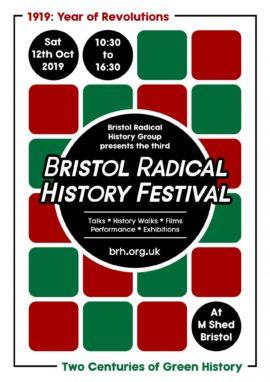 Bristol Radical History Festival - 2019 - Flyer