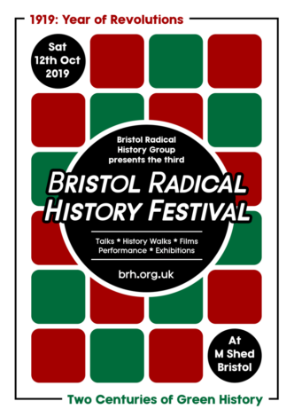 Bristol Radical History Festival 2019 Poster