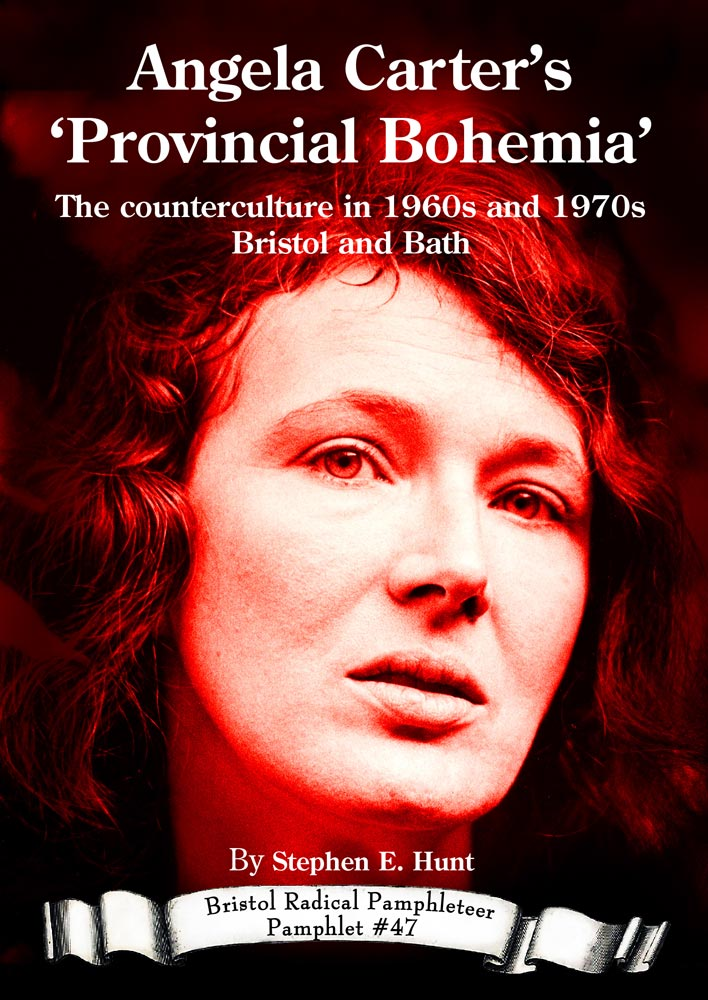 Front cover with a portrait of Angela Carter