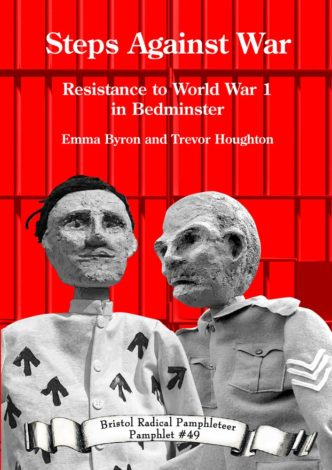 Front cover showing two puppets from the history walk